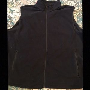 New! Men's 3X Black Cabela's Fleece Vest